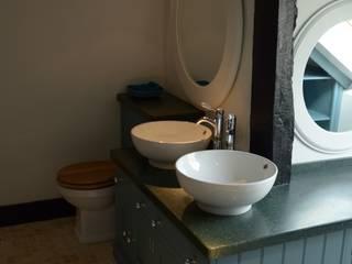 Blackboys Master Bathroom Willow Tree Interiors Baños de estilo rural