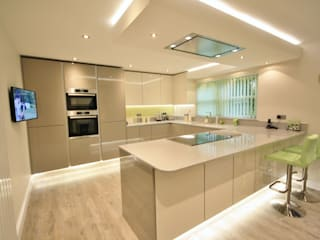 Springfield, Chelmsford Essex Modern style kitchen by Kitchencraft Modern