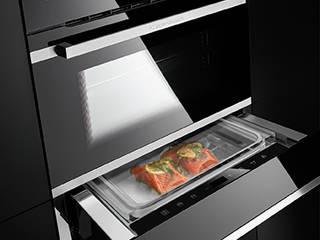 Un plaisir plus sain avec les nouveaux fours vapeur de Küppersbusch / Un tiroir sous-vide complète le nouveau programme sous-vide par Küppersbusch Hausgeräte GmbH Moderne