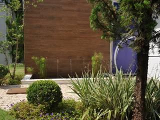 Paisagismo para espaço corporativo Edifícios comerciais modernos por Kelly Abramo Paisagismo Moderno