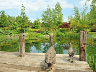 Kilbees's Farm - Landscape Gardening: rustic Garden by Ashwells Timber