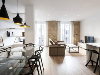 Столовые комнаты в . Автор – Aguilar Arquitectos, Лофт