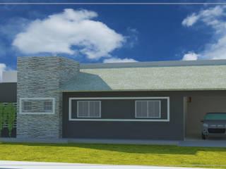 Arquitetônico: Casas  por DA.rquitetura,Moderno