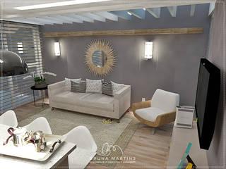 Residência M&S Cozinhas modernas por BRUNA MARTINS Arquitetura + Interiores Moderno