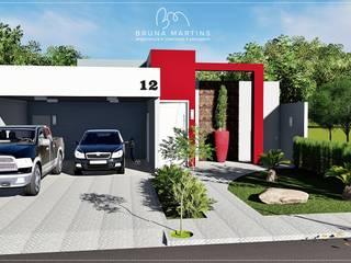 Residência M&S Casas modernas por BRUNA MARTINS Arquitetura + Interiores Moderno