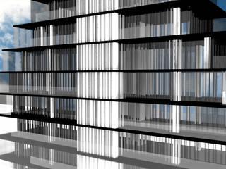 Casas de estilo  por Glocal Architecture Office (G.A.O) 吳宗憲建築師事務所/安藤國際室內裝修工程有限公司