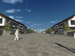 Espacios comerciales de estilo  por Glocal Architecture Office (G.A.O) 吳宗憲建築師事務所/安藤國際室內裝修工程有限公司