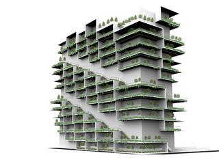 by Glocal Architecture Office (G.A.O) 吳宗憲建築師事務所/安藤國際室內裝修工程有限公司 Сучасний