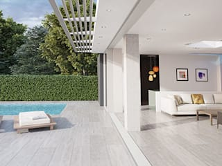 Valverdi Indoor-Out Indoor Outdoor Porcelain Tiles par The London Tile Co. Moderne