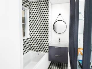 homify Salle de bain scandinave