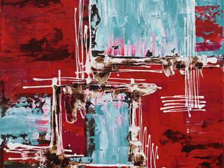Angie decoration ArtworkPictures & paintings Komposit Kayu-Plastik Red