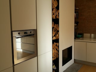 Ristrutturazione: Cucina in stile  di Andrea Magnoni Architetto, Minimalista
