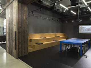 Cheil Office Interior - Interior Design:   by Ashwells Timber