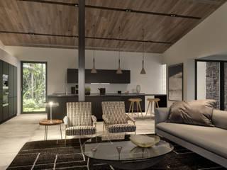 Villa Sul Espanha: Cozinhas  por Tendenza -  Interiors & Architecture Studio