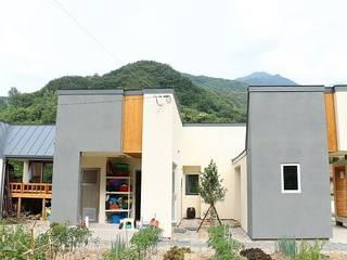 경남 함양군 모던스타일 주택 by (주)에너집 모던