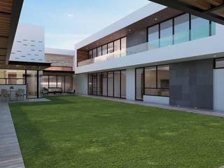 Casa OG: Casas de estilo  por Estudio Colectivo de Arquietctura