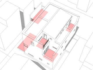 행신주택- white bass: (주)건축사사무소 코비의 현대 ,모던