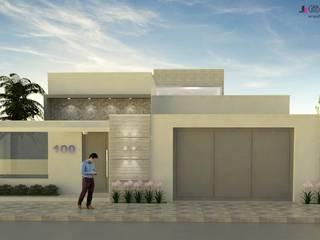 Projeto Arquitetônico Residencial: Casas  por Gabriella Roza Arquitetura e Interiores,Moderno