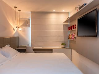 Bedroom by Priscila Boldrini Design e Arquitetura