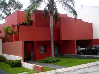 Can SeO: Casas de estilo  por Taller A3 SC