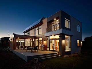 Moderne huizen van Energías Sustentables Soleon Modern