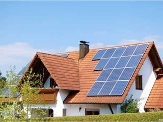 Instalacion en Techos Casas modernas de Energías Sustentables Soleon Moderno