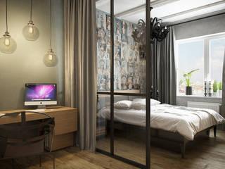 Scandinavian style bedroom by Flatsdesign Scandinavian