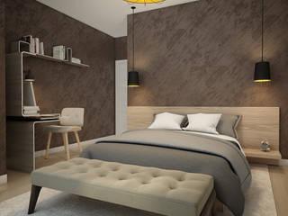 Minimalist bedroom by Flatsdesign Minimalist