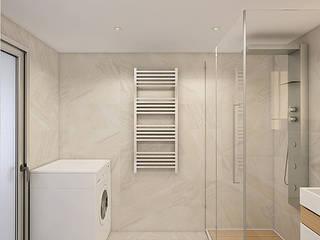 Industrial style bathroom by Flatsdesign Industrial