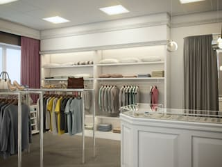 Classic style dressing room by Flatsdesign Classic