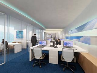 FLY GUAM HEADQUARTERS / OCEAN CENTRE - TST :  Office buildings by M2A Design,