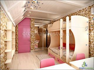 В объятиях Мира Природы: Детские комнаты в . Автор – Отдел Качества. Дизайн
