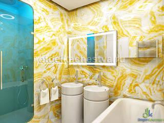 В объятиях Мира Природы: Ванные комнаты в . Автор – Отдел Качества. Дизайн