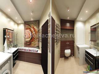 Комфортное пространство: Ванные комнаты в . Автор – Отдел Качества. Дизайн
