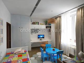 Комфортное пространство: Детские комнаты в . Автор – Отдел Качества. Дизайн