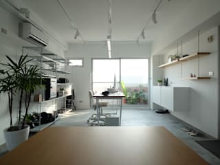Study/office by RND Inc. , Minimalist
