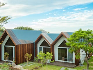 Casas estilo moderno: ideas, arquitectura e imágenes de 더 이레츠 건축가 그룹 Moderno