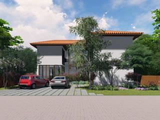 Casa na Enseada do Castelo: Casas  por OBARQ,Minimalista