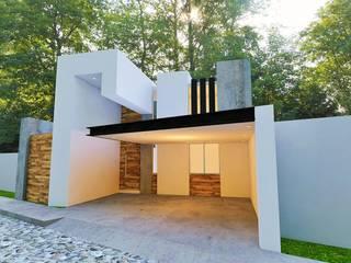 CASA VILLA MAGNA Casas modernas de Alan Rangel Arquitecto Moderno