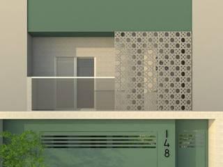 Maisons de style  par UNUM - ARQUITETURA E ENGENHARIA, Éclectique