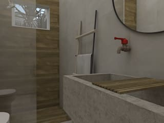 Eclectic style bathrooms by UNUM - ARQUITETURA E ENGENHARIA Eclectic