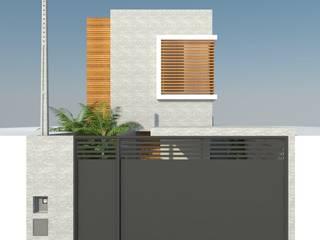 CASA LM Casas modernas por UNUM - ARQUITETURA E ENGENHARIA Moderno