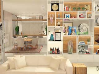 Living and Dining Room in Voorburg Klassieke woonkamers van Studio Baoba Klassiek