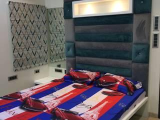 Nabh Design & Associates Minimalistische Schlafzimmer