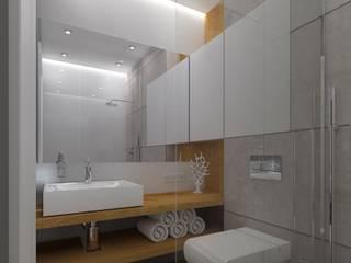 Apartament w Berlinie: styl , w kategorii  zaprojektowany przez KADA WNĘTRZA S.C.