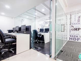 Modern office buildings by HGCG Architects Modern