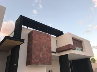 Casa LS138: Casas de estilo moderno por arqui I zero  arquitectos