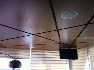 AUDIO E ILUMINACION: Salas multimedia de estilo  por EQUIPOS ELECTRONICOS DE SEGURIDAD PRIVADA SA DE CV