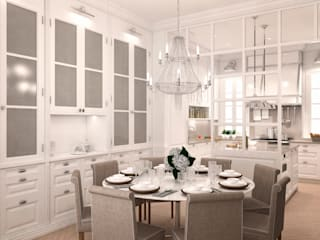 Dining room by DISIGHT, Classic