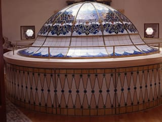 nev vitray – Kubbe - Dome:  tarz Duvarlar, Asyatik